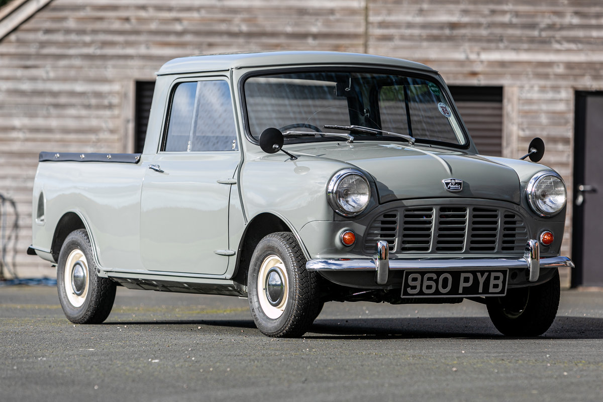 1962 Austin Mini Seven Pickup Superbly & accurately restored For Sale by Auction (picture 1 of 6)