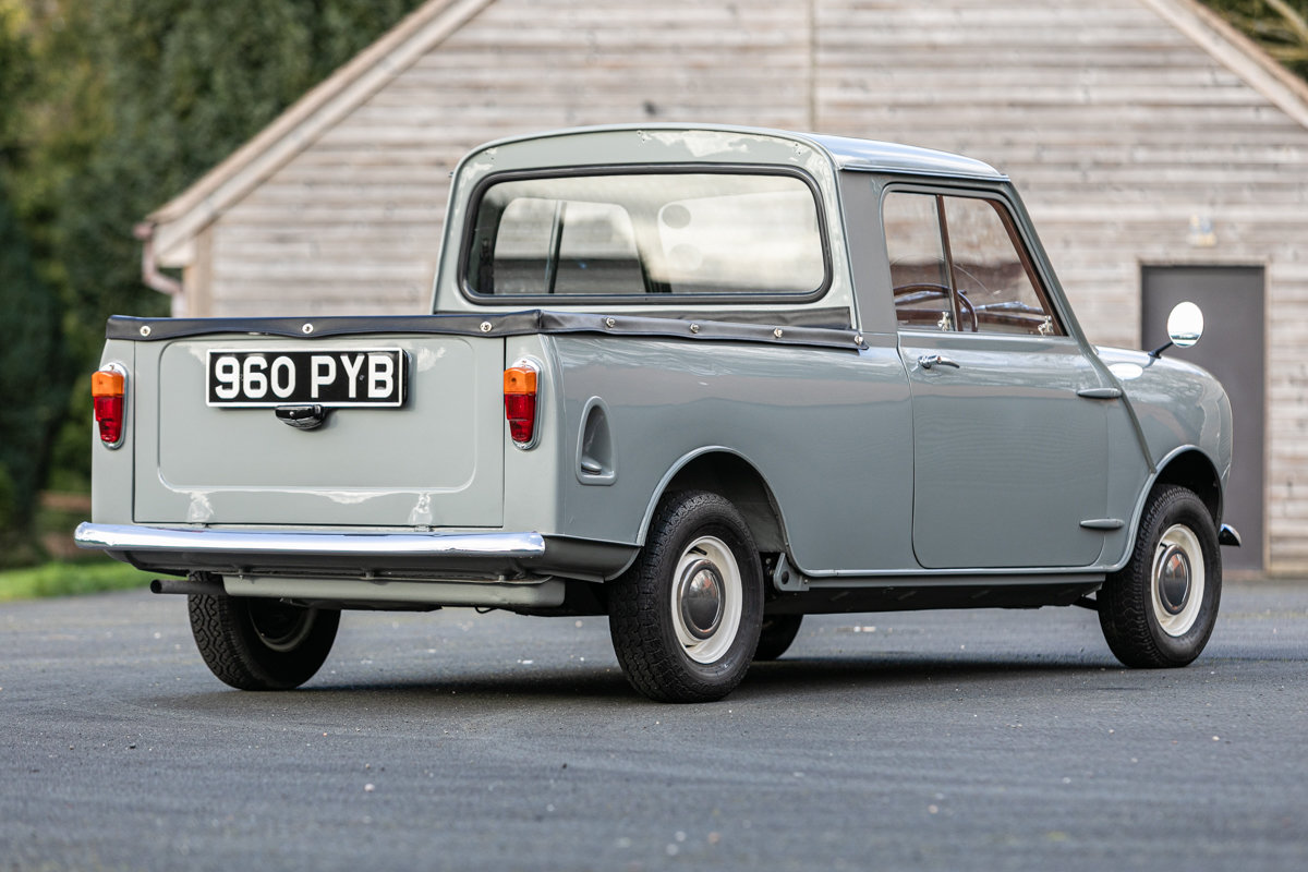 1962 Austin Mini Seven Pickup Superbly & accurately restored For Sale by Auction (picture 4 of 6)