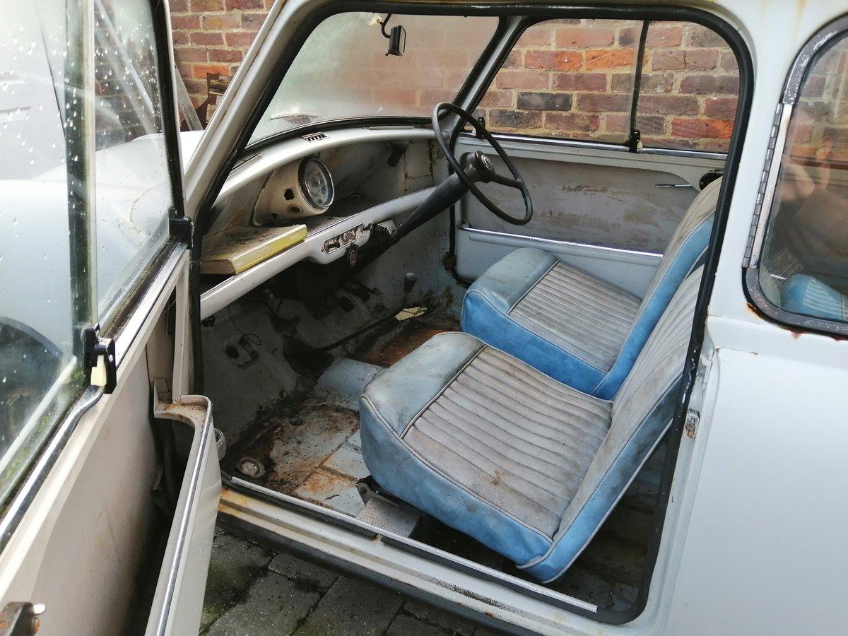 1960 Austin Seven (850 Mini) project SOLD (picture 2 of 6)
