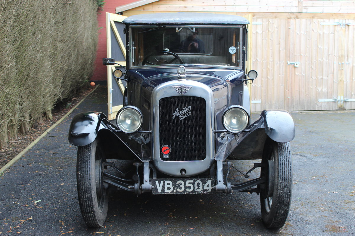 1928 Austin 16/6 burnham saloon For Sale (picture 1 of 4)