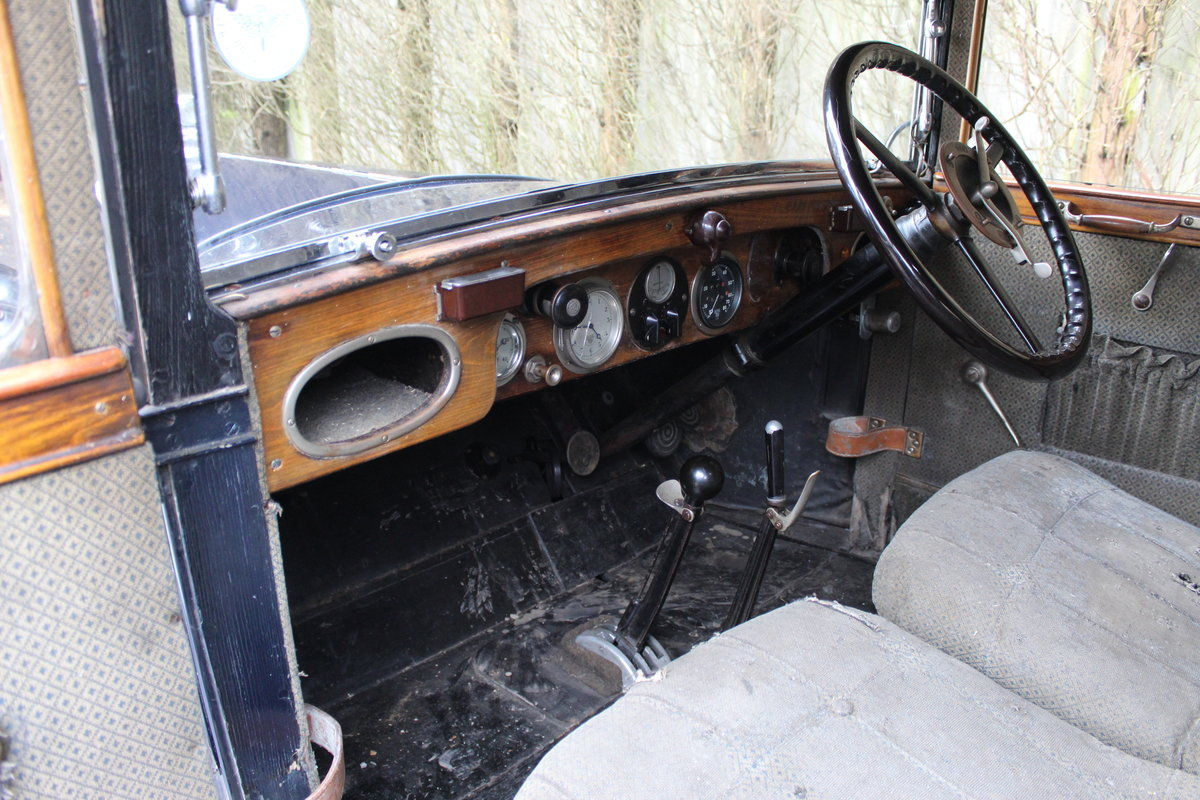 1928 Austin 16/6 burnham saloon For Sale (picture 3 of 4)