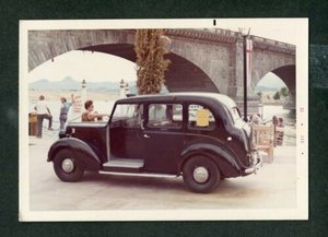 1963 Beardmore Mark 7 London Taxi Cab