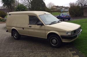 1985 Austin Maestro 500 City Van with only 10,000 miles