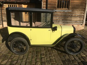 1927 Austin Seven 'Top Hat' Saloon For Sale