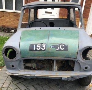 1967 Classic Mini Cooper 998 Project