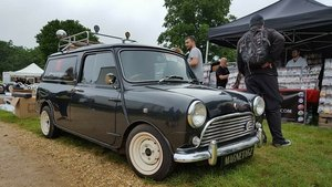1980 Classic Mini Van Metallic Charcoal St For Sale