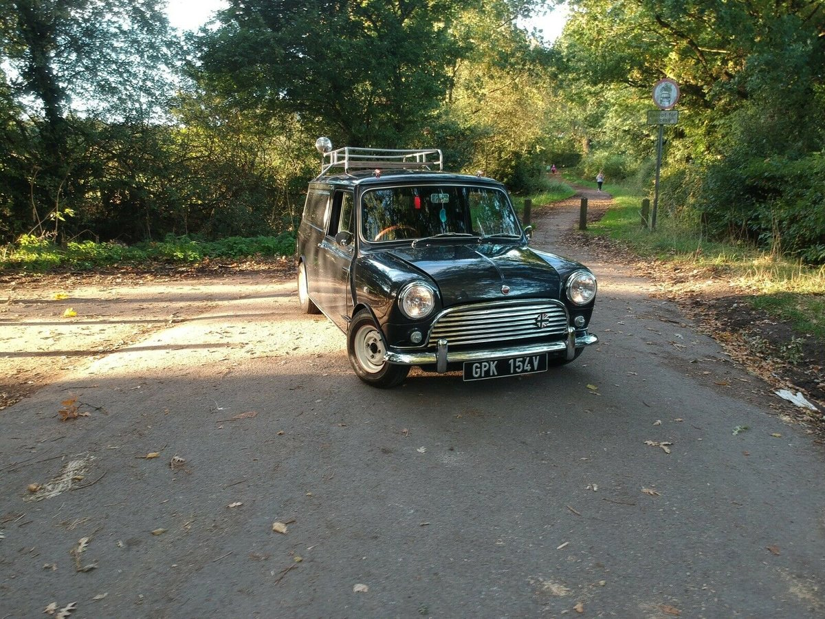 1980 Classic Mini Van Metallic Charcoal St For Sale (picture 2 of 6)