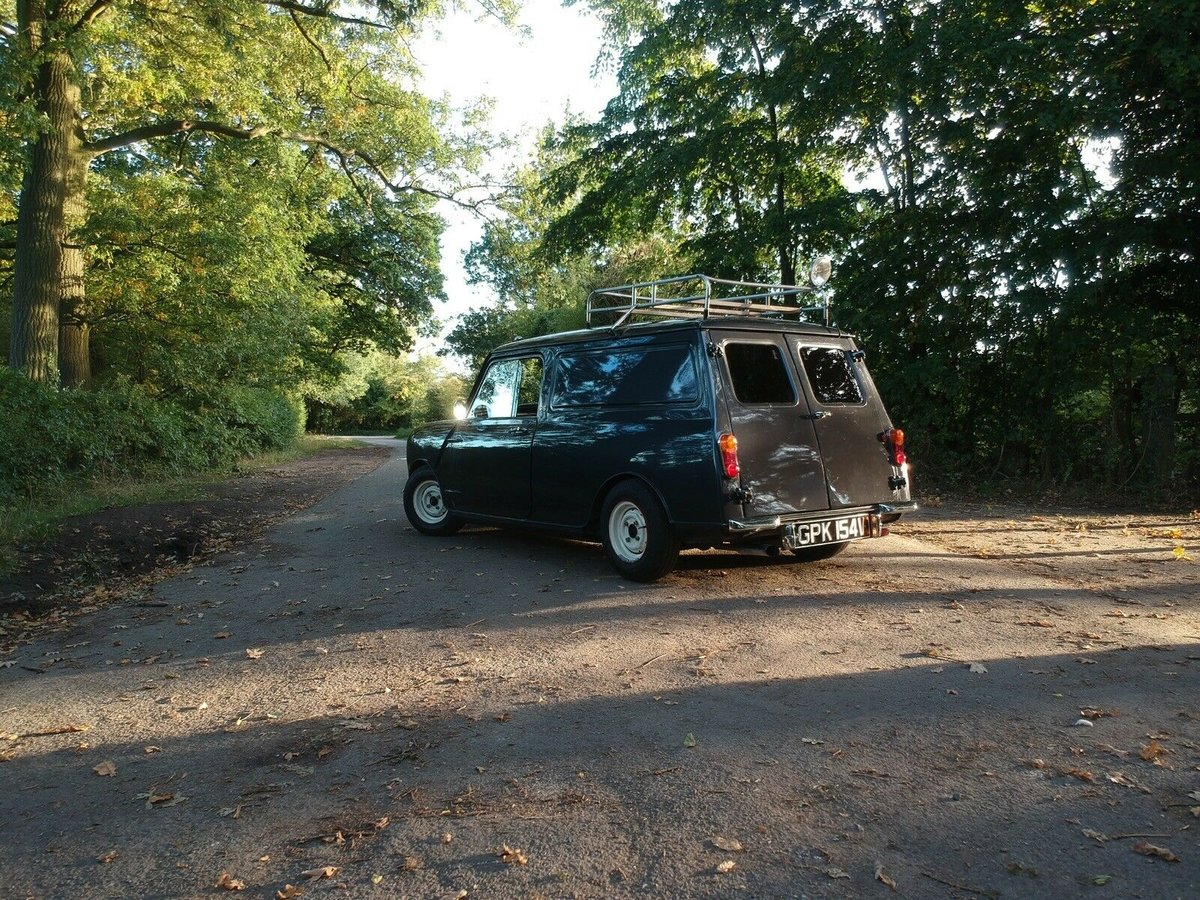 1980 Classic Mini Van Metallic Charcoal St For Sale (picture 3 of 6)