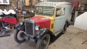 1934 Austin Seven Van