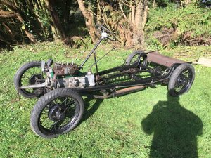 1936 Austin 7 Ruby rolling chassis engine gearbox For Sale