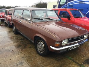 1979 ALLEGRO Barn find. Unused for years