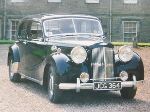 **NEW ENTRY** 1950 Austin A125 Sheerline