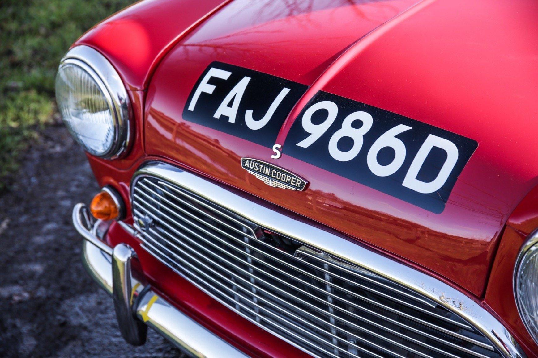 1966 Austin Mini Cooper S For Sale (picture 16 of 20)