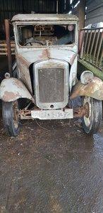 1934 Austin 7 box