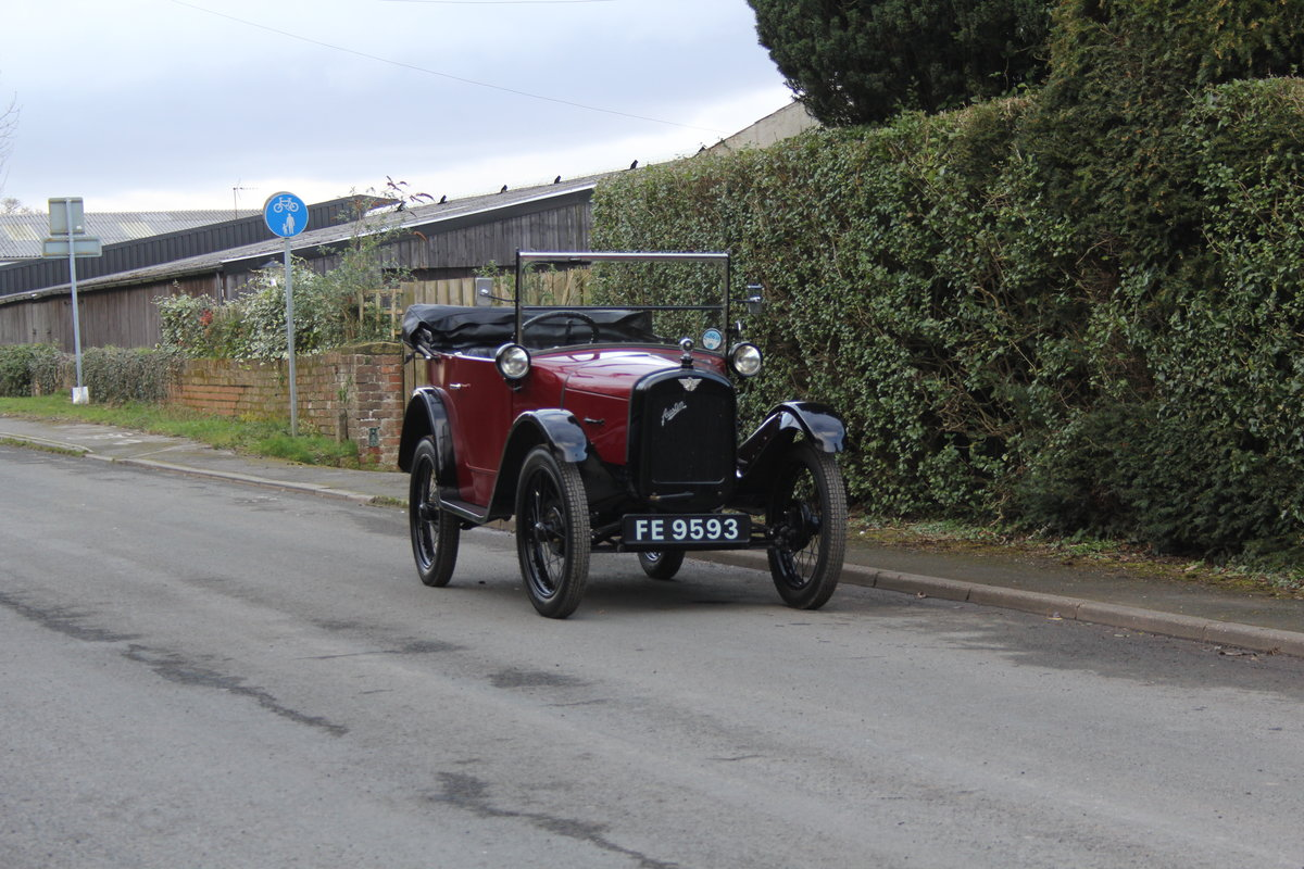 1927 Austin Seven Chummy For Sale (picture 1 of 22)