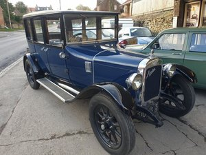 1924 Austin 12/4 Windsor saloon SOLD by Auction
