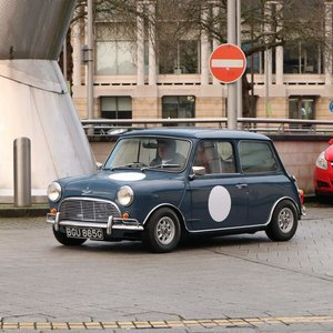 1990 Austin Cooper S MK1 / ITALIAN JOB recreation.