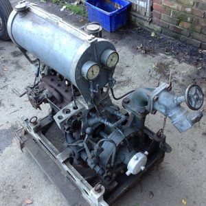 1937 original Austin powered 2nd world war water pump
