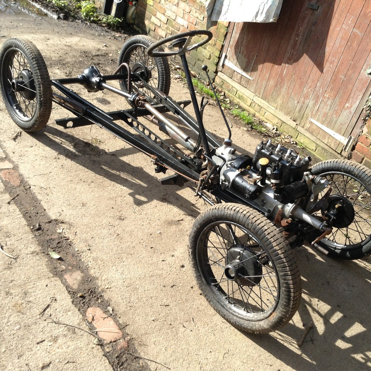 1934 Rebuilt Rolling Chassis And Log Book. For Sale