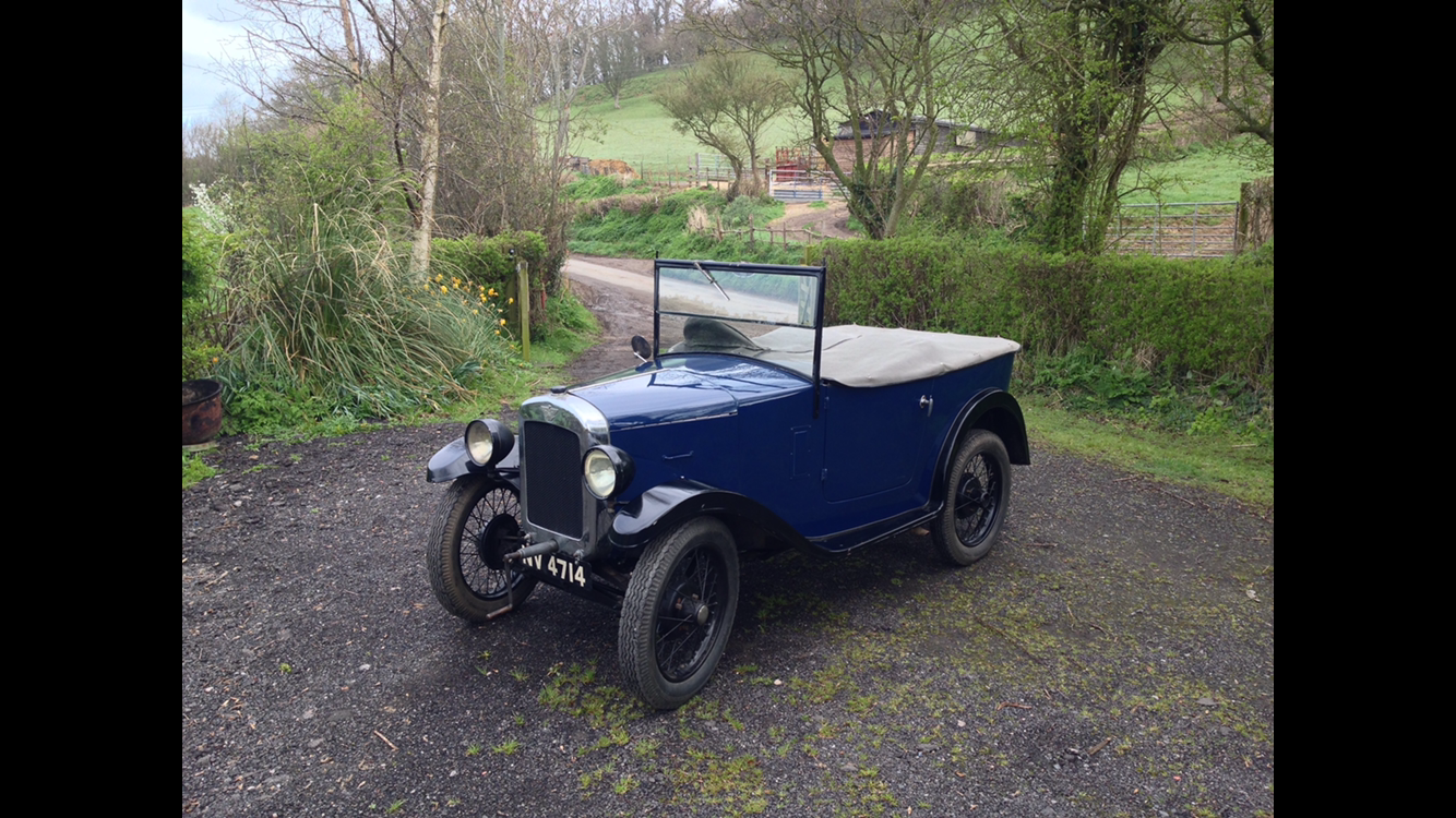 1934 Austin 7 chummy For Sale (picture 1 of 4)