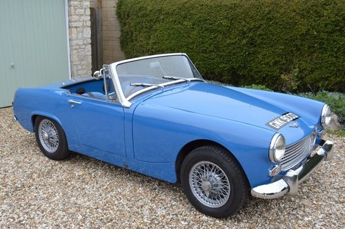 1966 Austin Healey Sprite SOLD (picture 1 of 6)