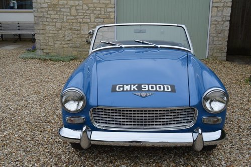 1966 Austin Healey Sprite SOLD (picture 2 of 6)
