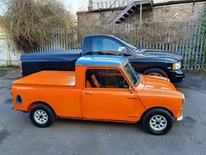 INCREDIBLE 1967 Austin Mini Pick-Up Truck For Sale