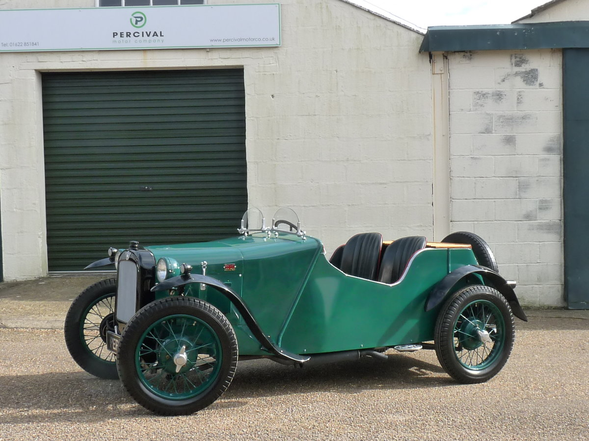 1934 Austin 7 Special, alloy body, uprated engine, SOLD SOLD (picture 1 of 6)