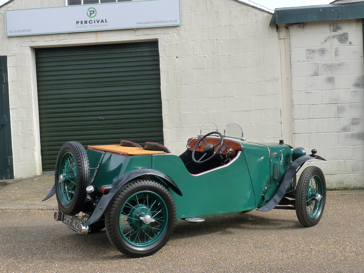 1934 Austin 7 Special, alloy body, uprated engine, SOLD SOLD (picture 2 of 6)