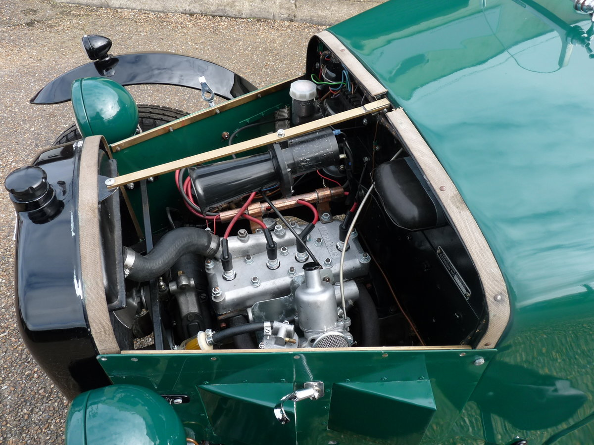 1934 Austin 7 Special, alloy body, uprated engine, SOLD SOLD (picture 4 of 6)