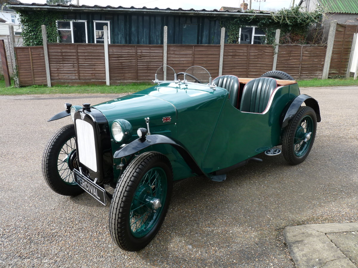 1934 Austin 7 Special, alloy body, uprated engine, SOLD SOLD (picture 5 of 6)