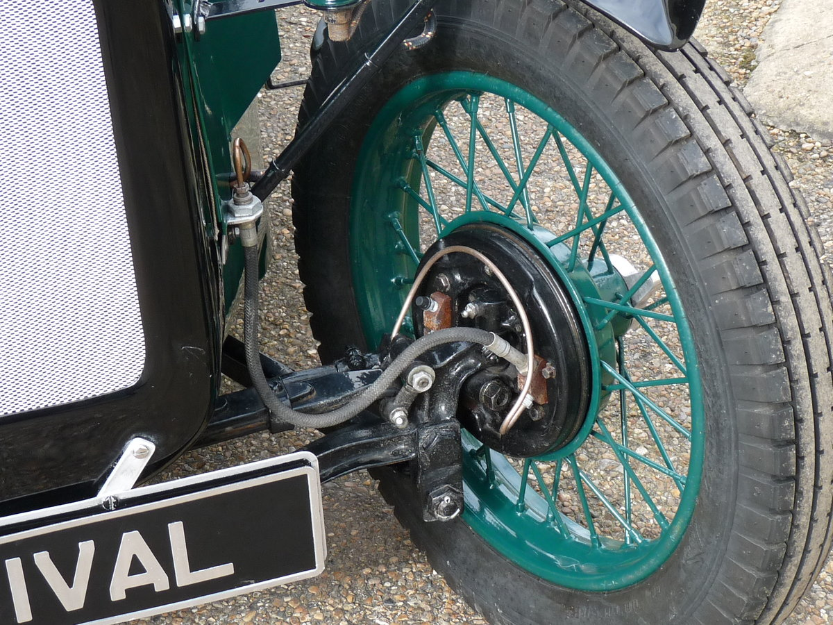 1934 Austin 7 Special, alloy body, uprated engine, SOLD SOLD (picture 6 of 6)