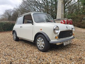 1987 Stunning Austin Mini City 1.0 in White For Sale