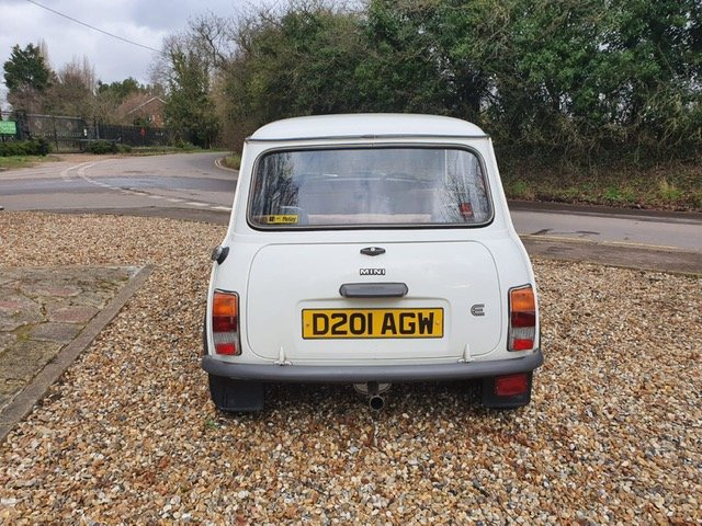 1987 Stunning Austin Mini City 1.0 in White For Sale (picture 2 of 6)