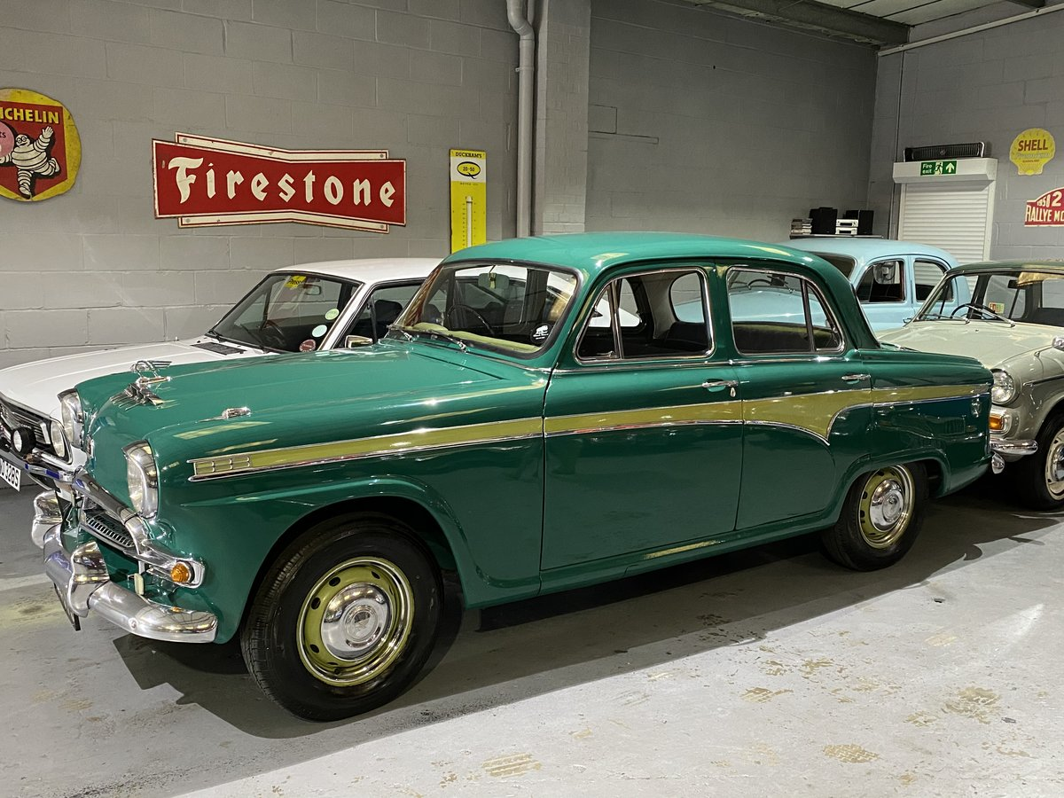 1957 Austin A95 Westminster, manual overdrive, 48000 miles For Sale (picture 1 of 6)