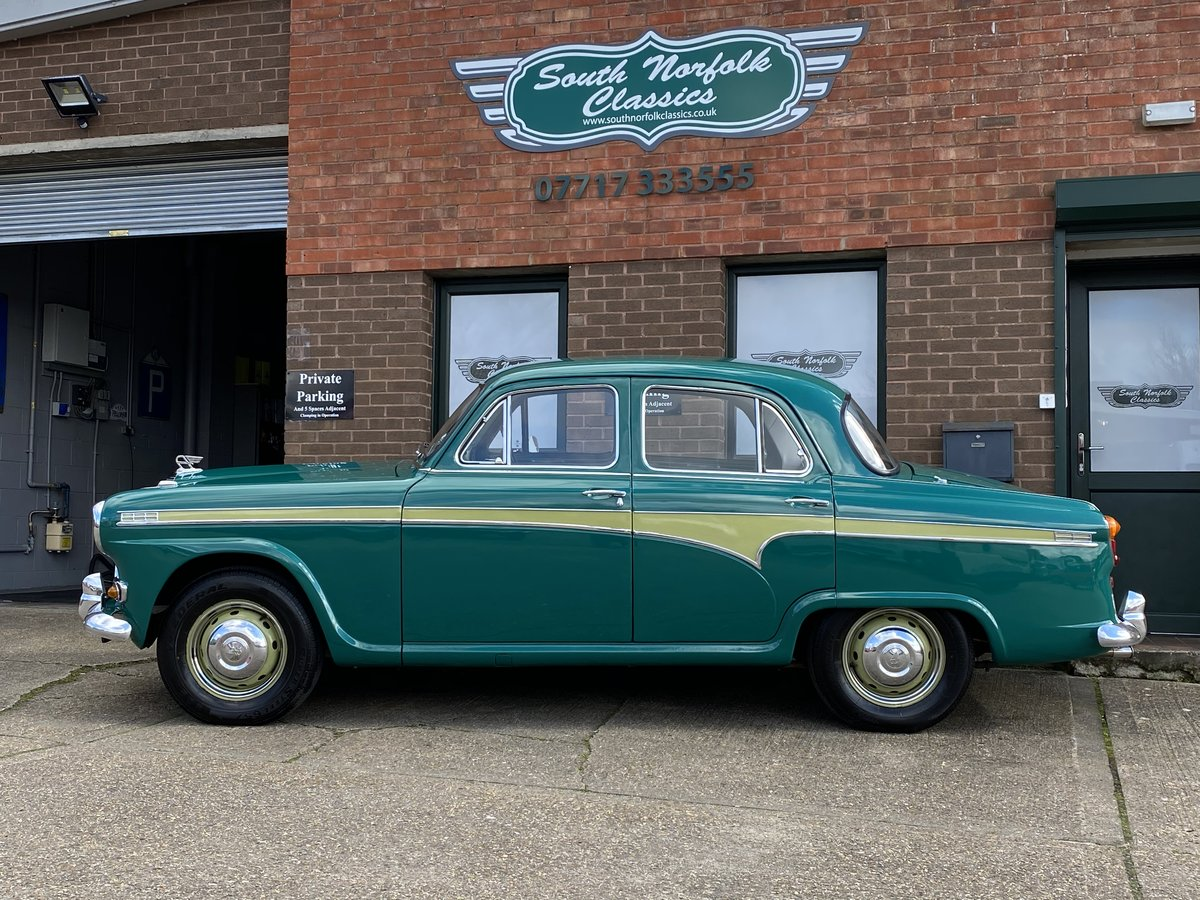 1957 Austin A95 Westminster, manual overdrive, 48000 miles For Sale (picture 2 of 6)