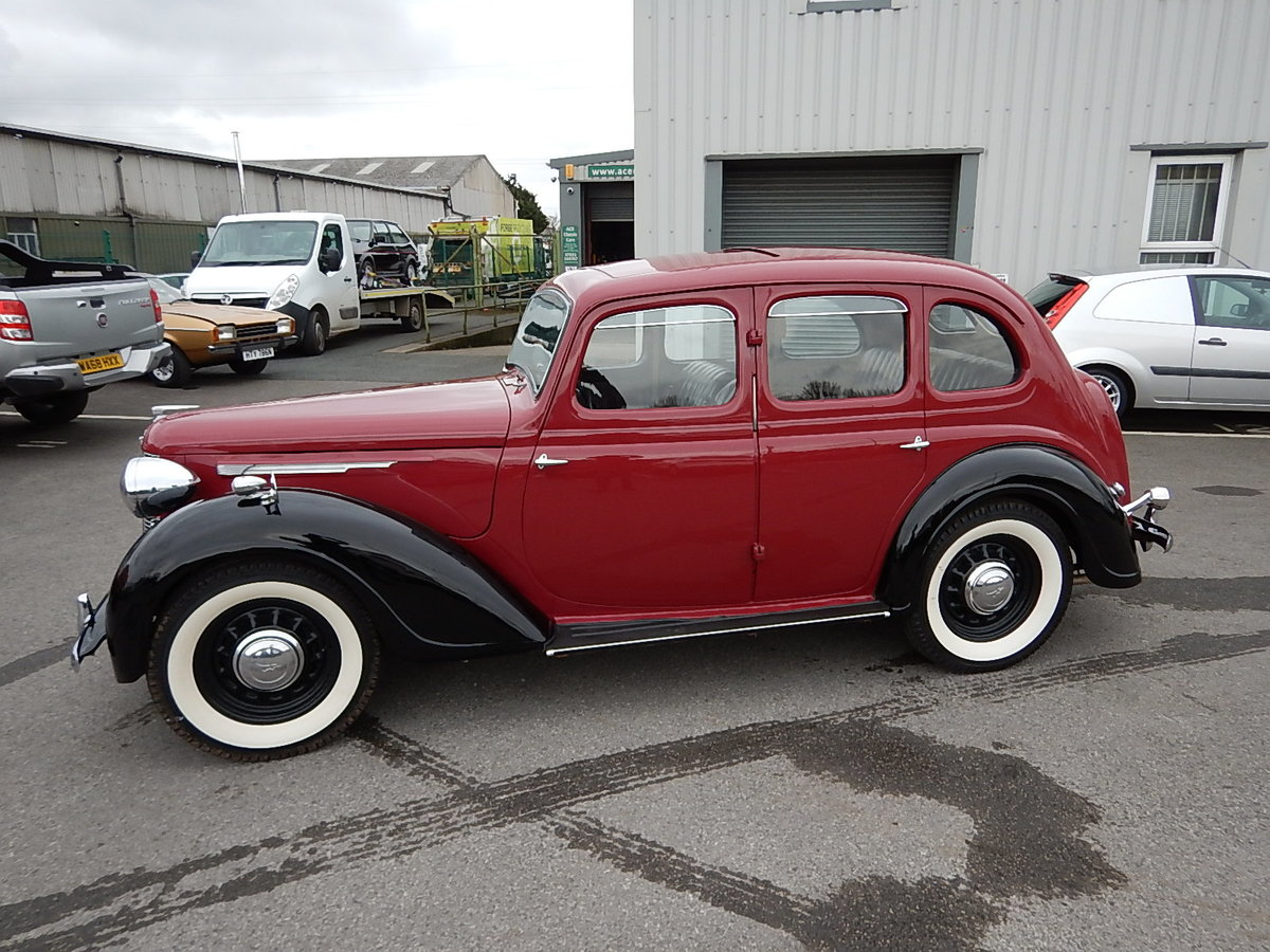 1948 AUSTIN 16 Sliding Head Saloon ~  SOLD (picture 1 of 6)