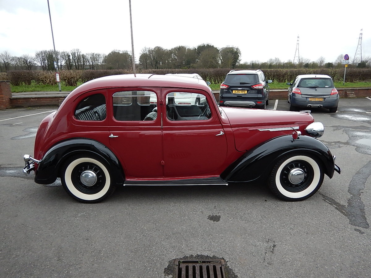 1948 AUSTIN 16 Sliding Head Saloon ~  SOLD (picture 3 of 6)