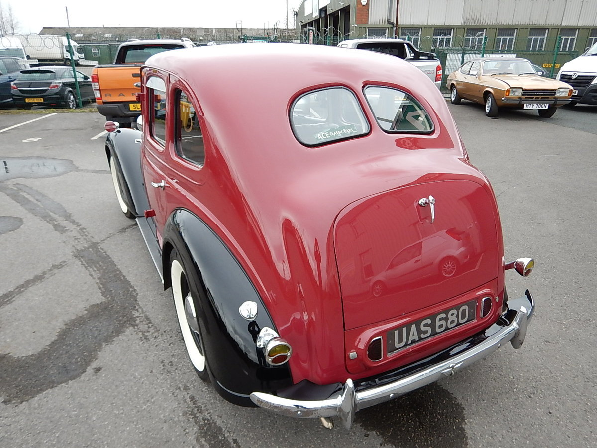 1948 AUSTIN 16 Sliding Head Saloon ~  SOLD (picture 4 of 6)