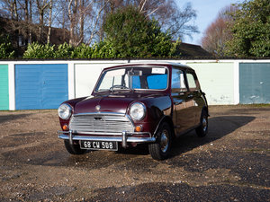 1968 Austin Mini Mk2 1000 Very Early Super-de-Luxe