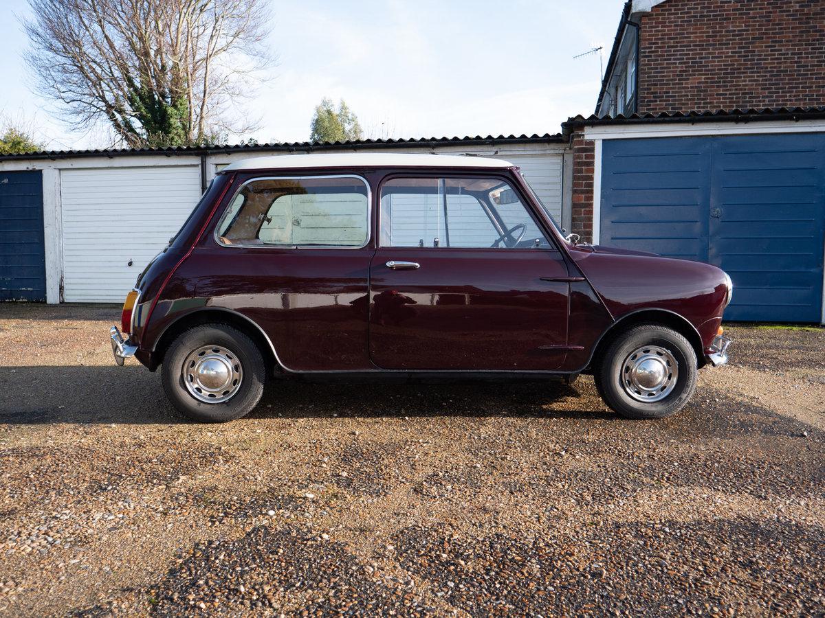 1968 Austin Mini Mk2 1000 Very Early Super-de-Luxe For Sale (picture 3 of 6)