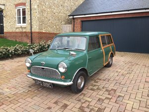 1965 Austin Mini Countryman (Almond Green)