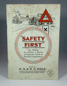 "Wills ""Safety First"" Cigarette Cards"