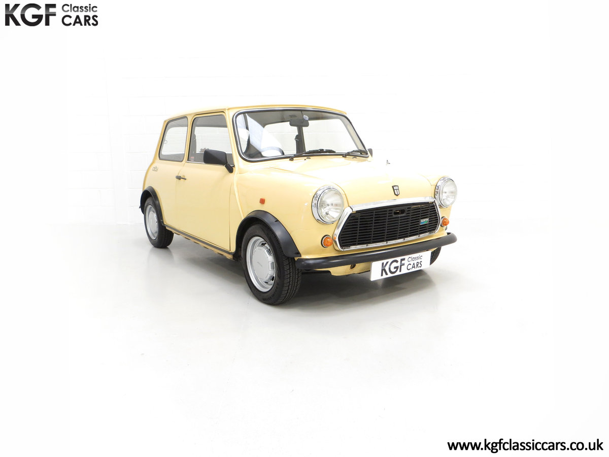 1986 A Delightful Classic Austin Mini City E Ready for Fun! For Sale (picture 1 of 6)