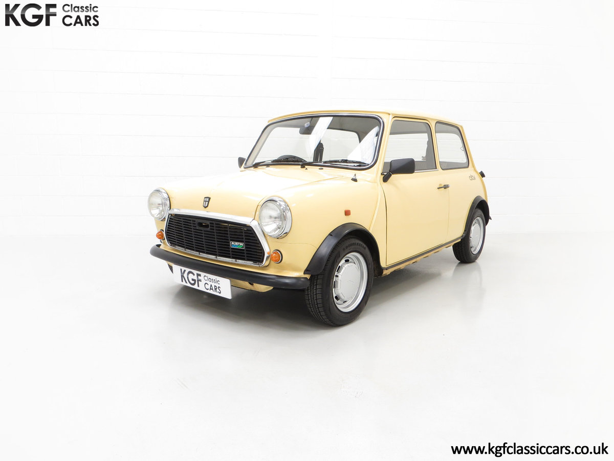 1986 A Delightful Classic Austin Mini City E Ready for Fun! For Sale (picture 2 of 6)