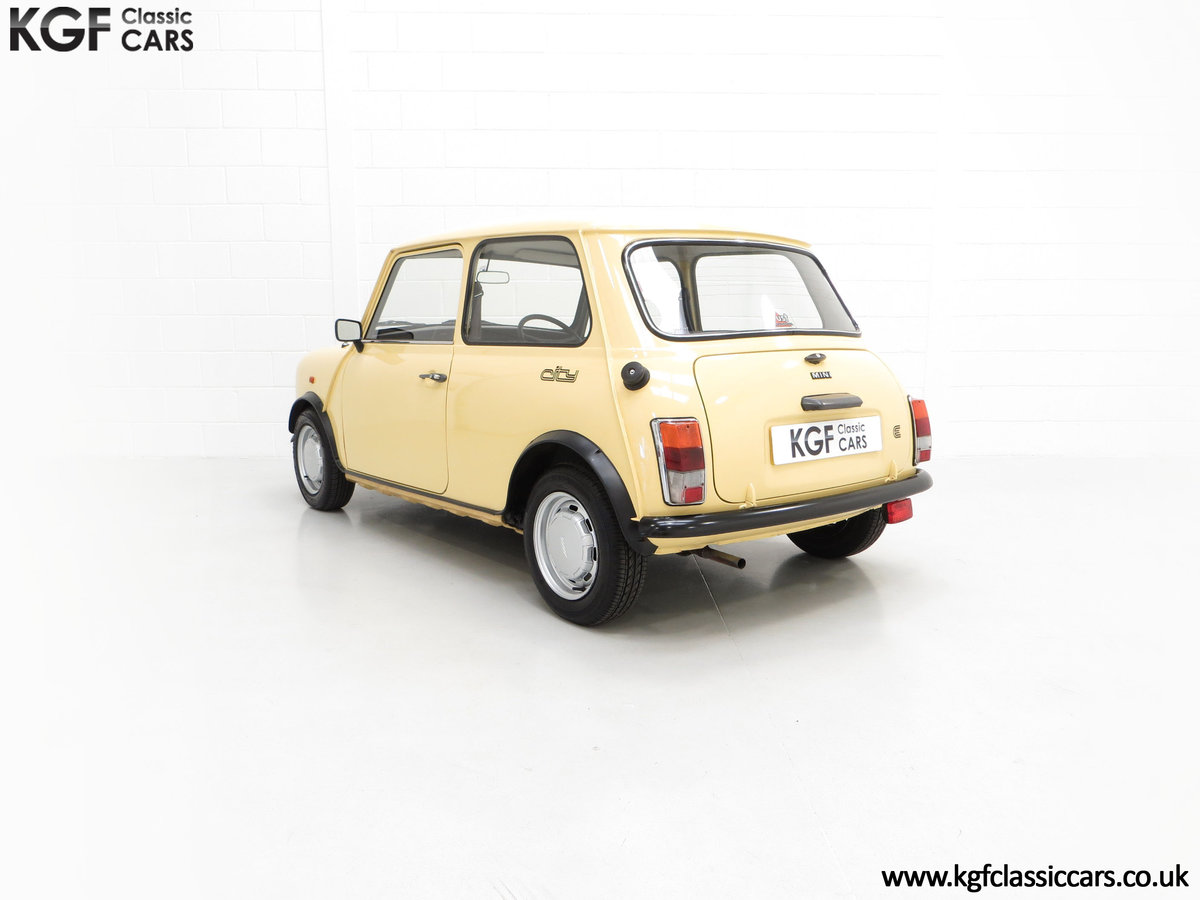 1986 A Delightful Classic Austin Mini City E Ready for Fun! For Sale (picture 4 of 6)