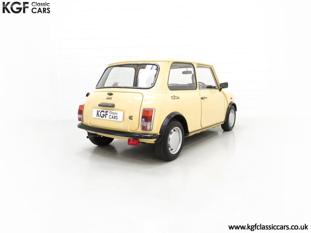 1986 A Delightful Classic Austin Mini City E Ready for Fun! For Sale (picture 5 of 6)