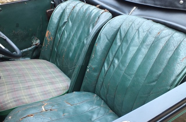 1934 Very original three owner Austin 10 two seater & dickey seat For Sale (picture 4 of 6)
