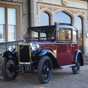 1933 Austin Seven RP Saloon, 4 Speed, RESERVED FOR JIM. SOLD