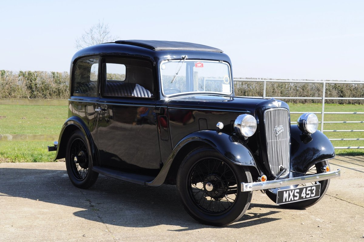 1934 Austin Seven Ruby Vintage Car For Sale (picture 1 of 6)